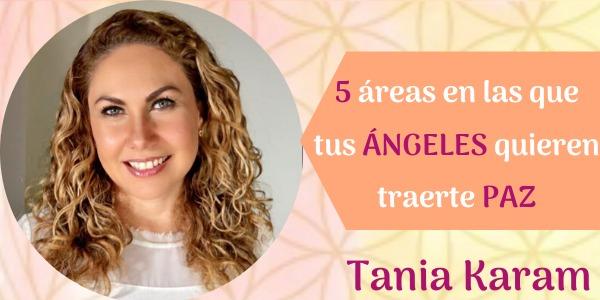 5 áreas de paz con tus ángeles