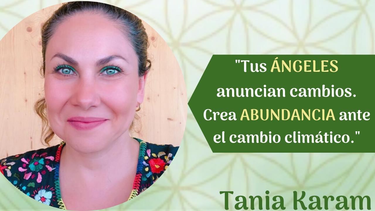 ángeles hablan de cambios con Tania Karam